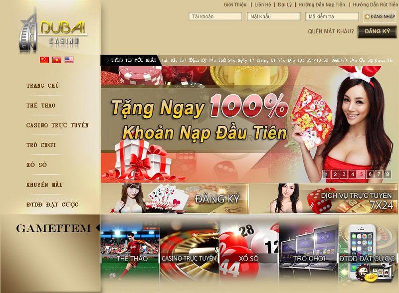 Tham gia chơi tại Dubai casino để hưởng nhiều ưu đãi hấp dẫn